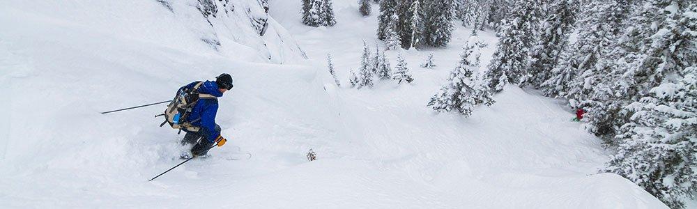 Idaho backcountry skiing