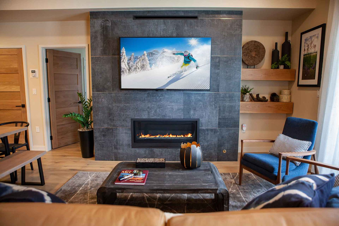 Fireplace Interior Space