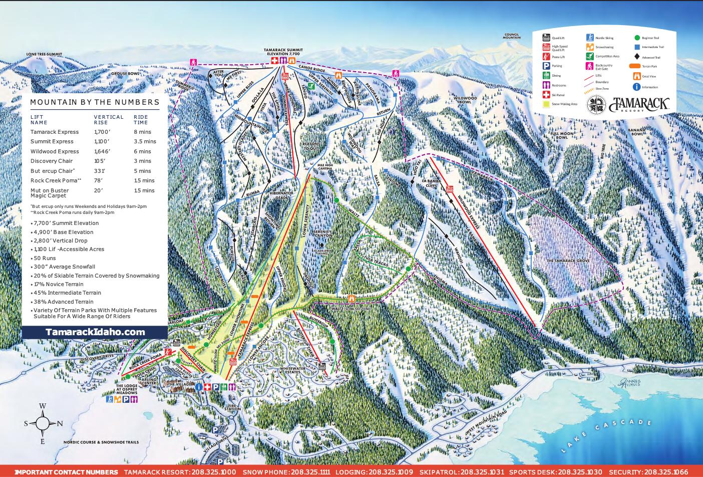 Winter Trail Map