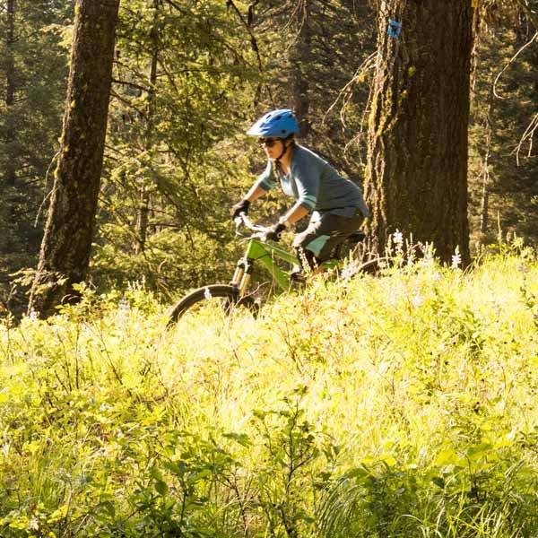 Idaho biking trails for downhill and cross country mountain biking.