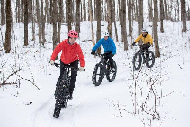 Fat Tire Winter Biking