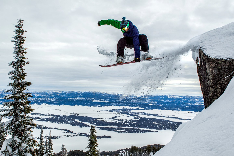 Snowboarding - Tamarack Resort