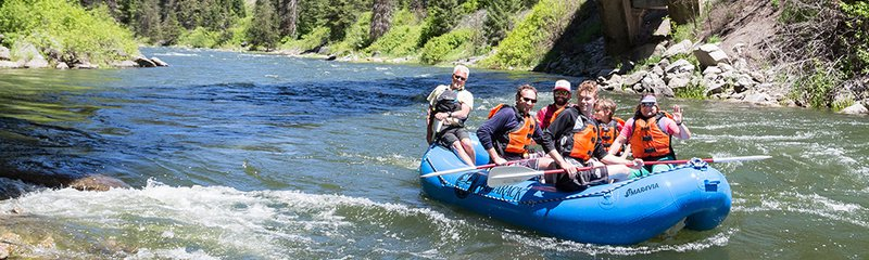 Guided Whitewater Rafting Trips