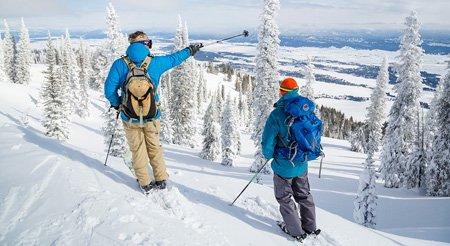 Ski runs and vertical drop