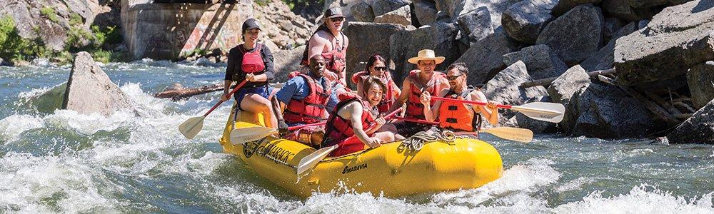 Idaho White Water Rafting Trips