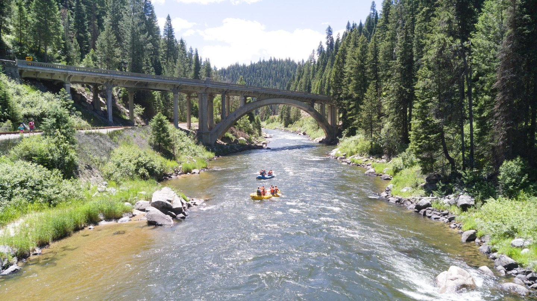 River rafting trips