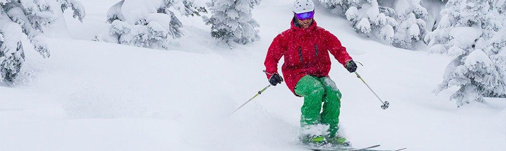 ski trail Idaho