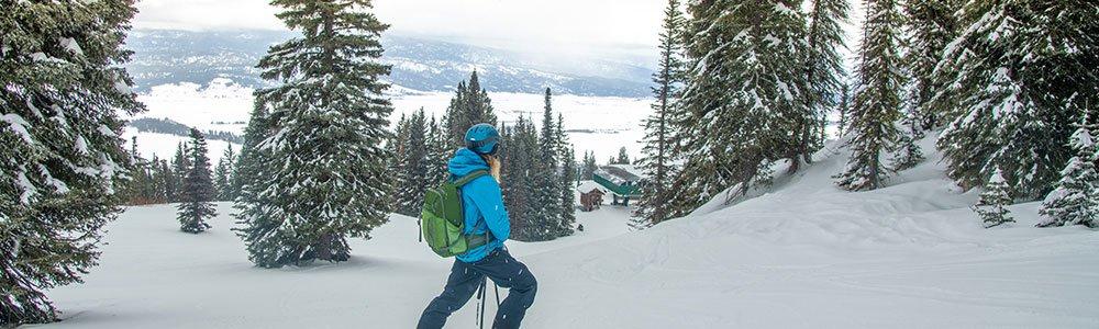 skiing near McCall Idaho