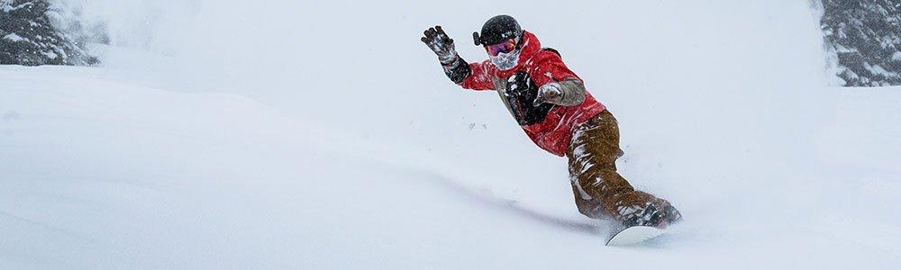 Snowboarder paradise