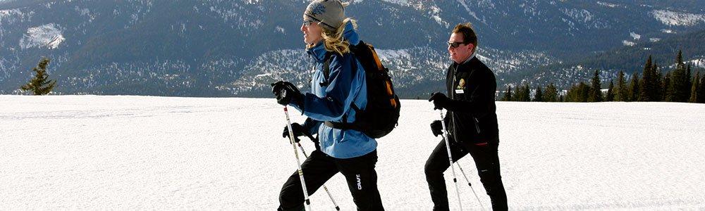 Snowshoeing In Idaho