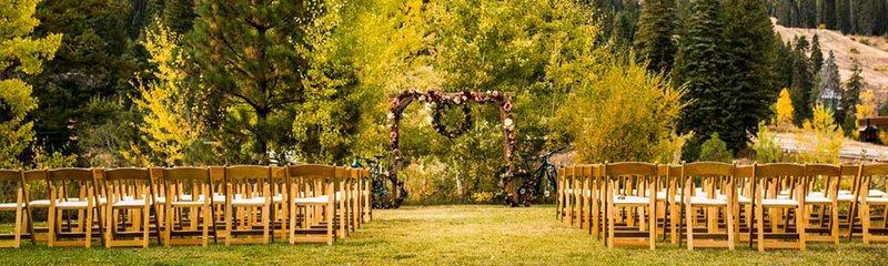 Weddings In idaho at Tamarack resort