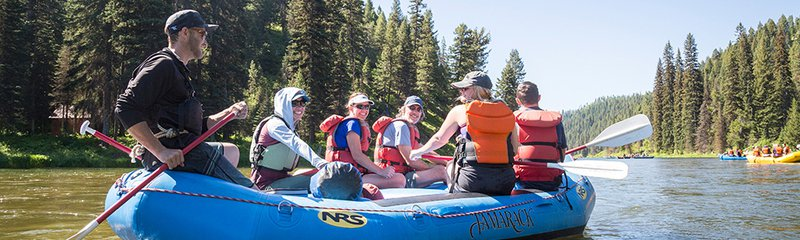 Whitewater Rafting Adventures In Idaho