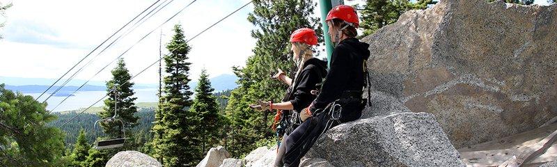 Zip Line Adventure In Idaho