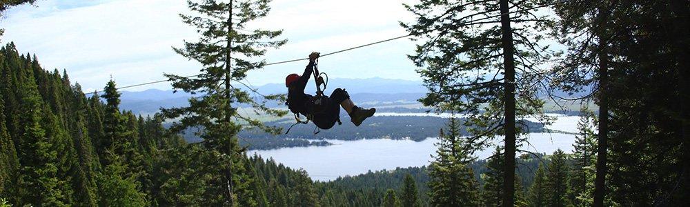 Ziplining In Idaho